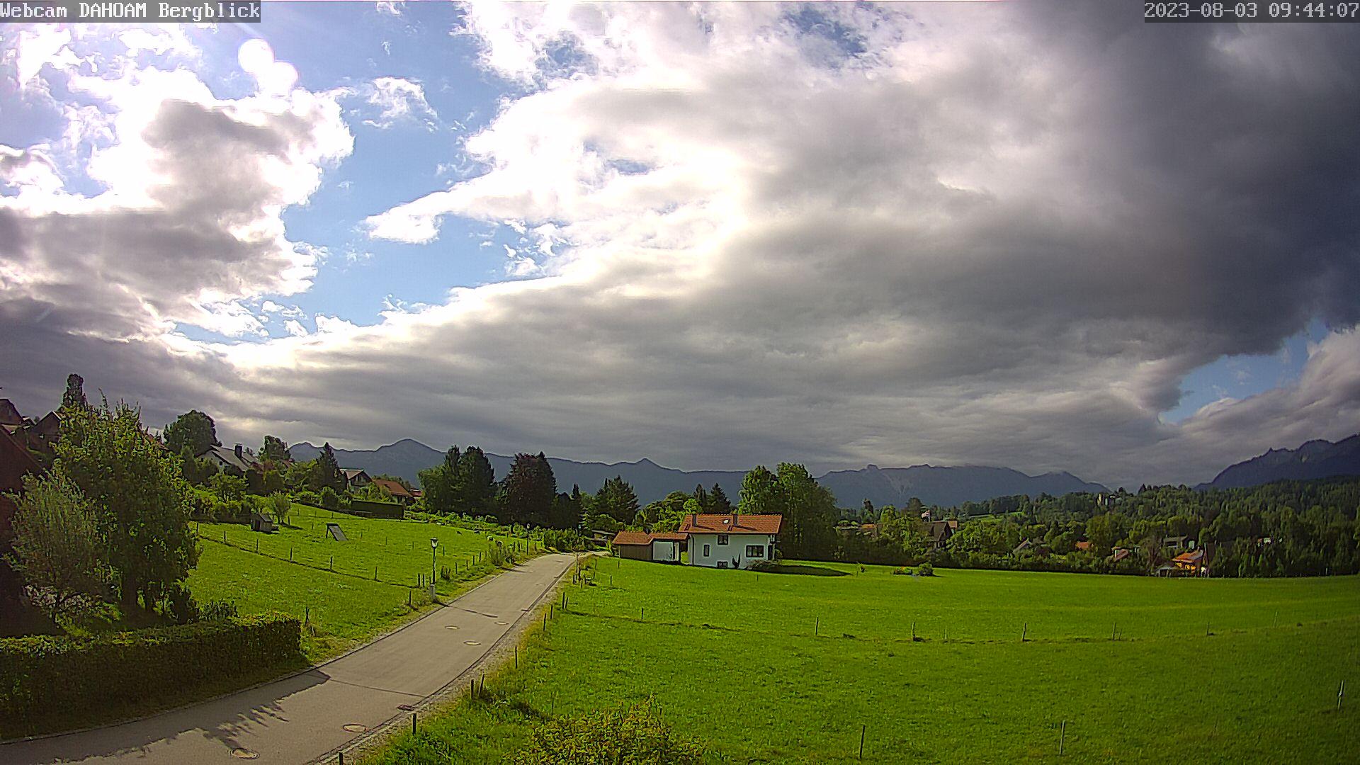 Webcam Seehausen am Staffelsee - Bergblick